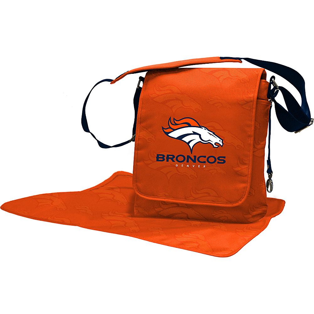 Lil Fan NFL Messenger Bag Denver Broncos - Lil Fan Diaper Bags & Accessories