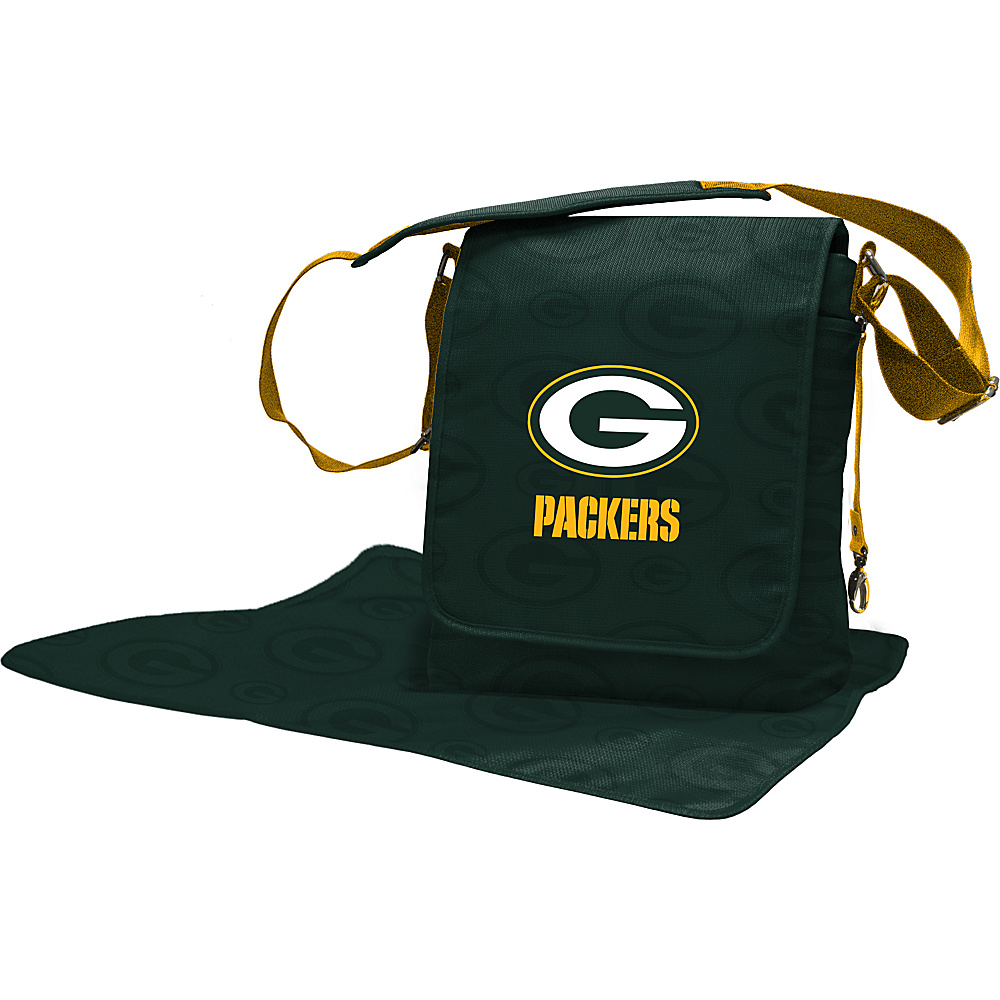 Lil Fan NFL Messenger Bag Green Bay Packers - Lil Fan Diaper Bags & Accessories