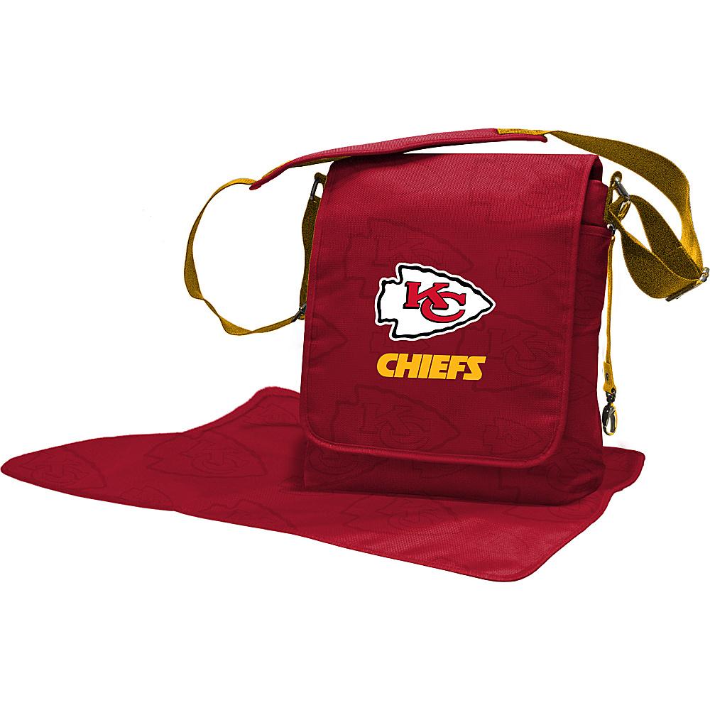 Lil Fan NFL Messenger Bag Kansas City Chiefs - Lil Fan Diaper Bags & Accessories