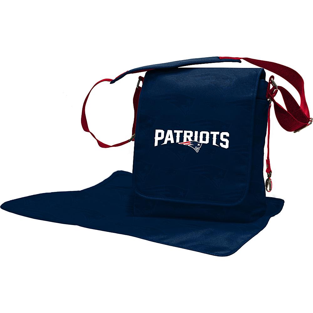 Lil Fan NFL Messenger Bag New England Patriots - Lil Fan Diaper Bags & Accessories