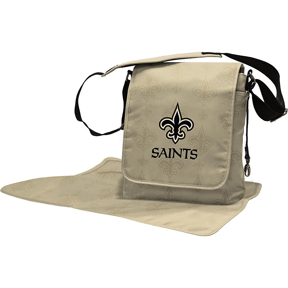 Lil Fan NFL Messenger Bag New Orleans Saints - Lil Fan Diaper Bags & Accessories