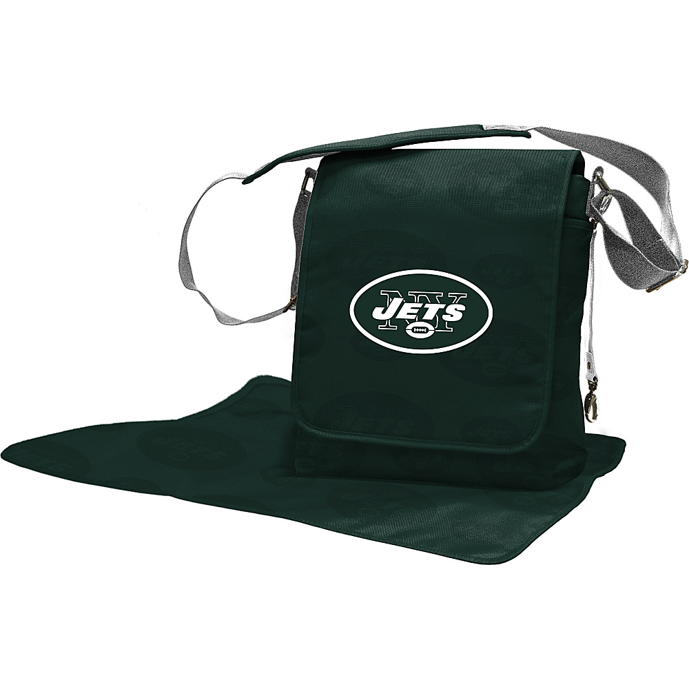 Lil Fan NFL Messenger Bag New York Jets - Lil Fan Diaper Bags & Accessories