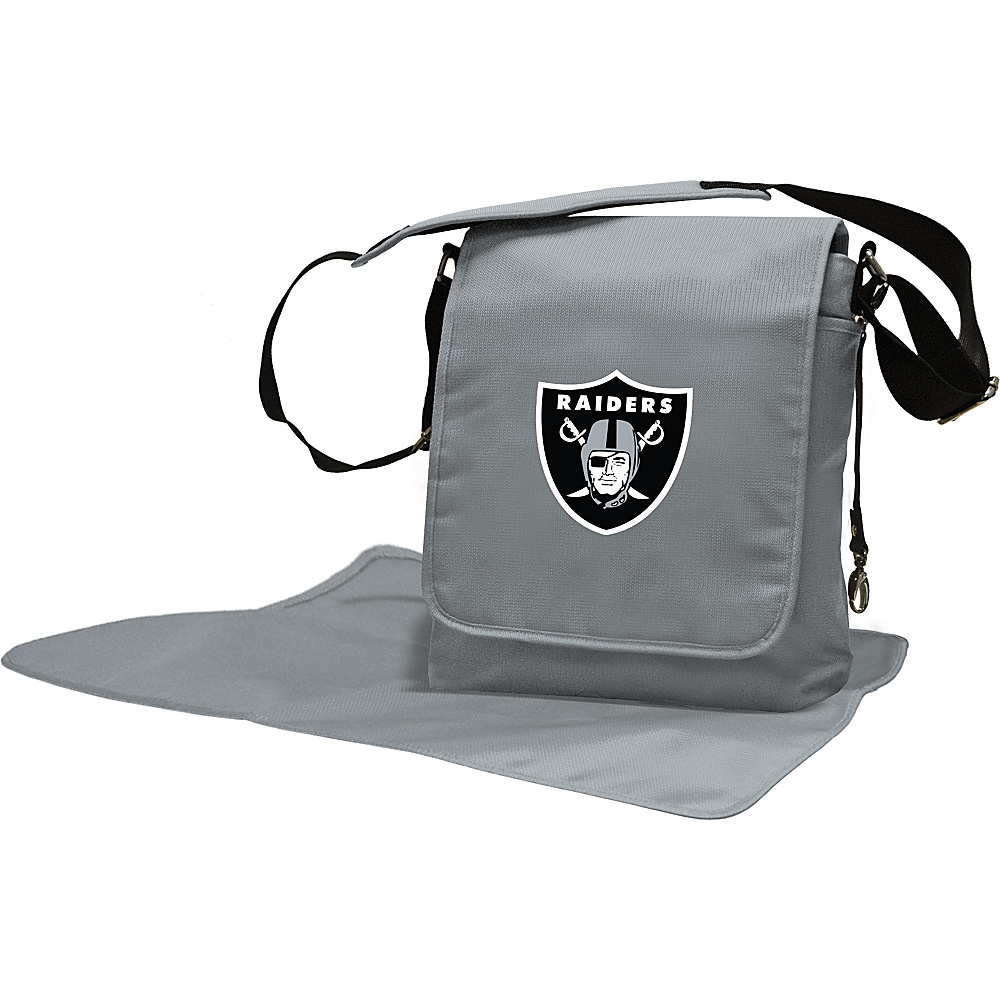 Lil Fan NFL Messenger Bag Oakland Raiders - Lil Fan Diaper Bags & Accessories