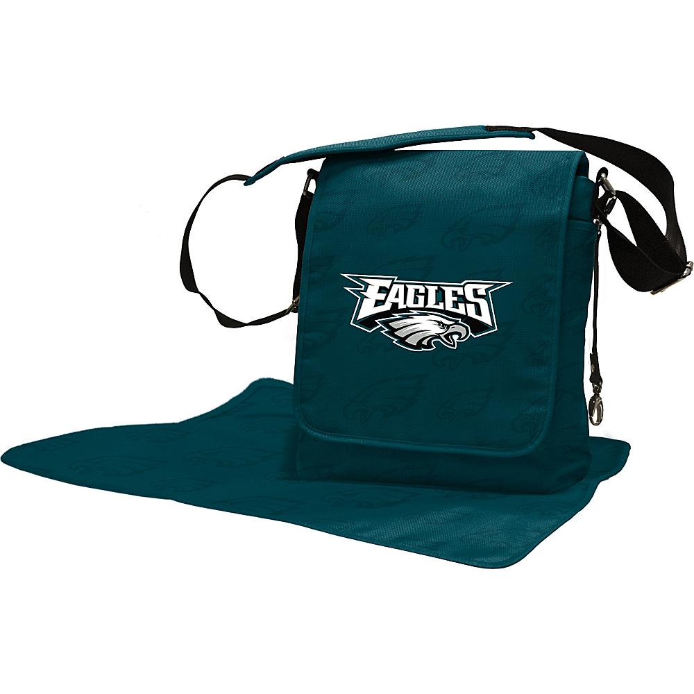 Lil Fan NFL Messenger Bag Philadelphia Eagles - Lil Fan Diaper Bags & Accessories