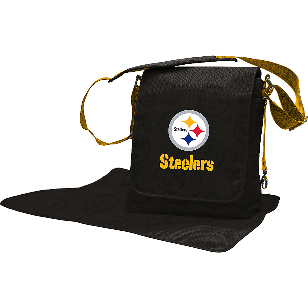 Lil Fan NFL Messenger Bag Pittsburgh Steelers - Lil Fan Diaper Bags & Accessories