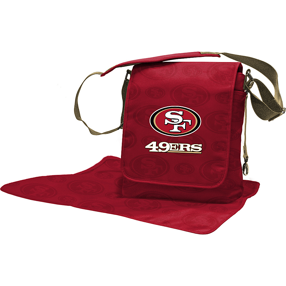 Lil Fan NFL Messenger Bag San Francisco 49ers - Lil Fan Diaper Bags & Accessories