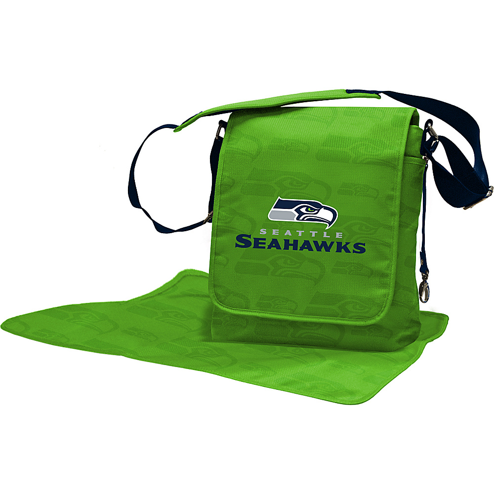 Lil Fan NFL Messenger Bag Seattle Seahawks - Lil Fan Diaper Bags & Accessories