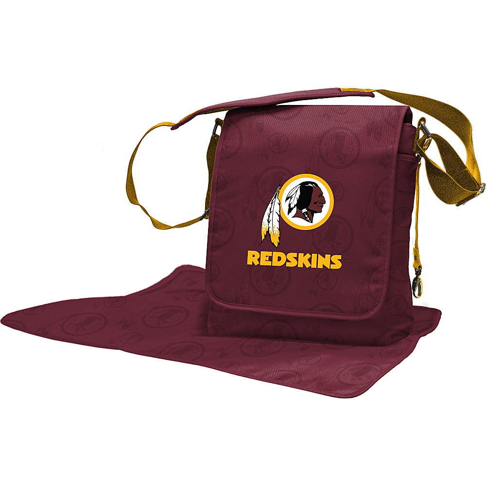 Lil Fan NFL Messenger Bag Washington Redskins - Lil Fan Diaper Bags & Accessories
