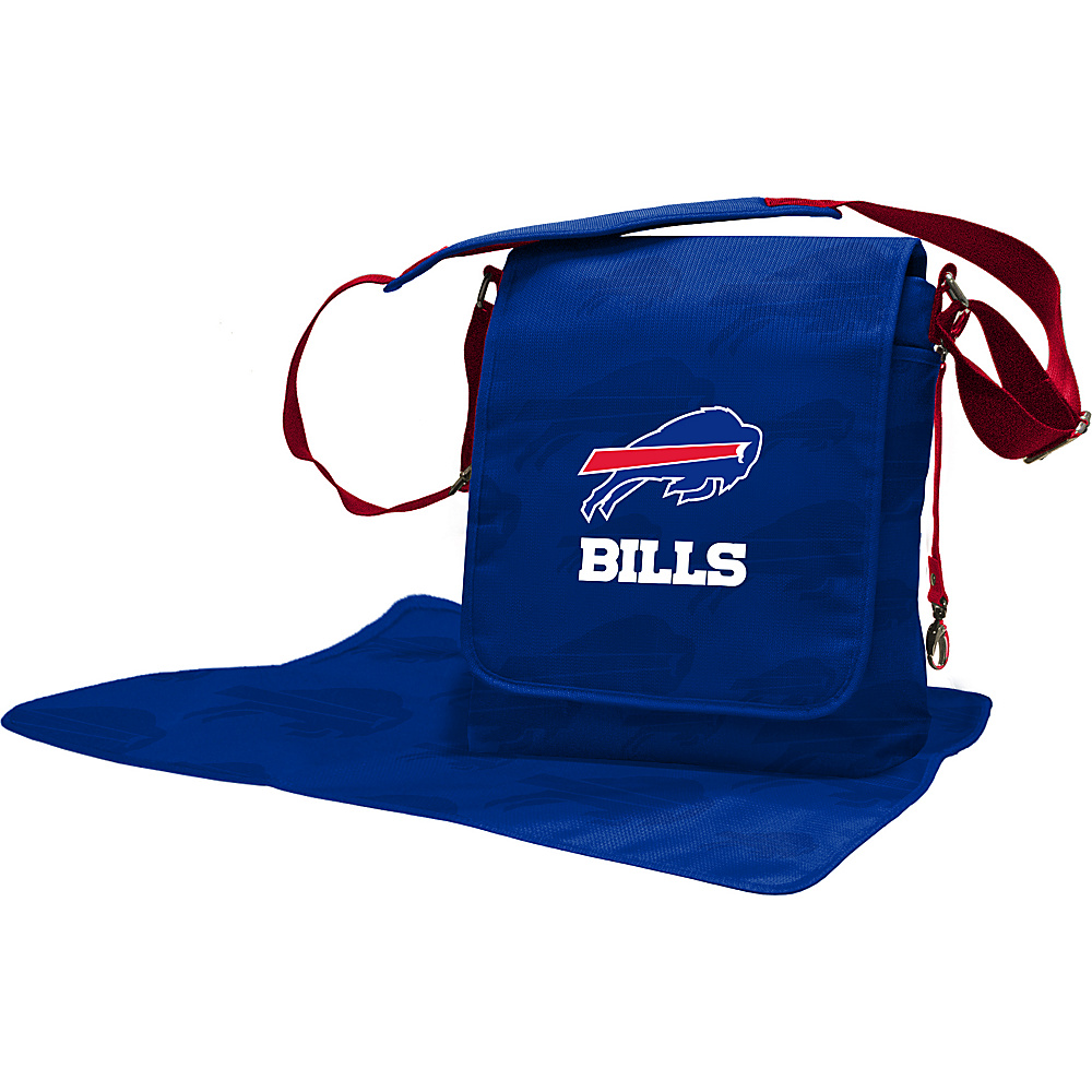 Lil Fan NFL Messenger Bag Buffalo Bills - Lil Fan Diaper Bags & Accessories