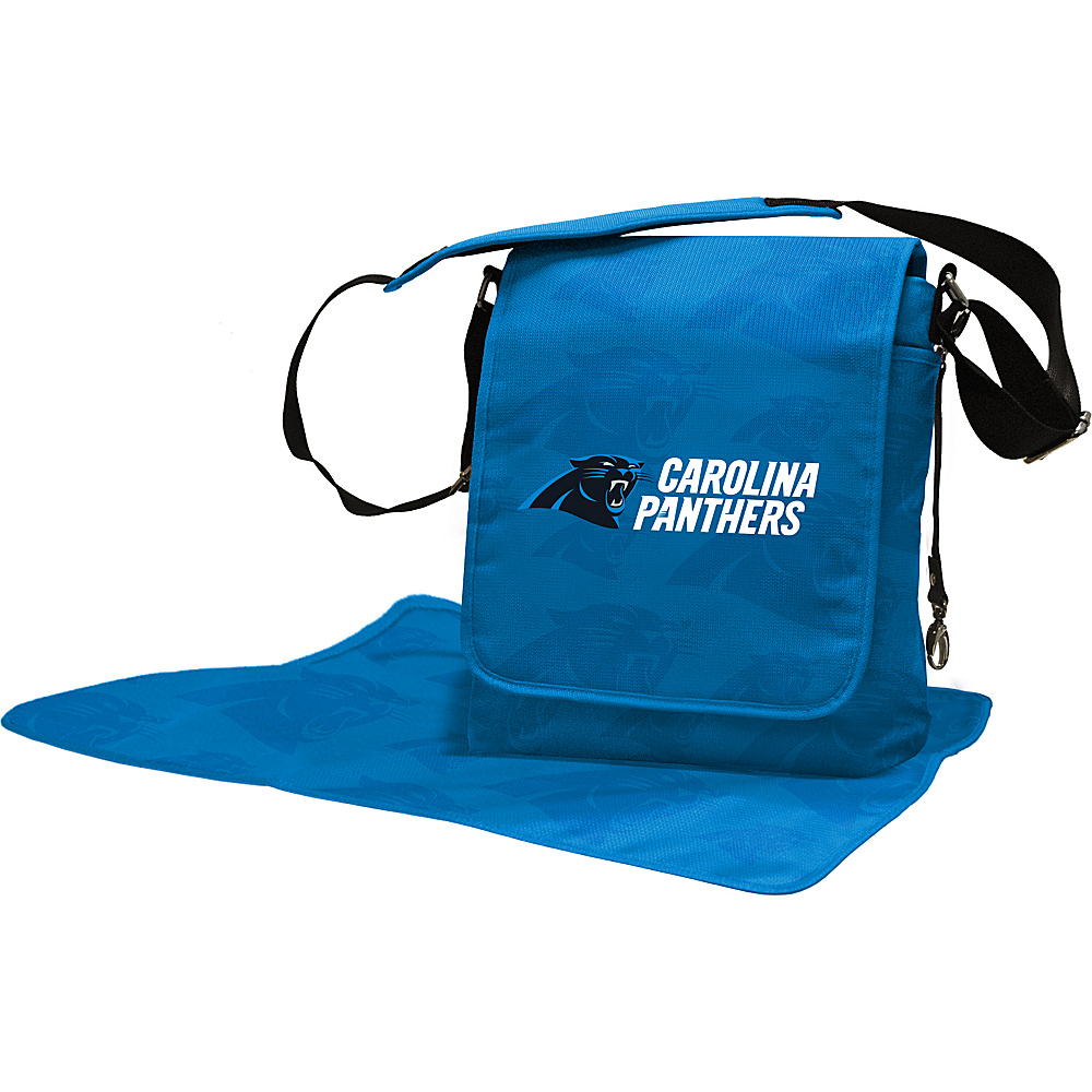 Lil Fan NFL Messenger Bag Carolina Panthers - Lil Fan Diaper Bags & Accessories