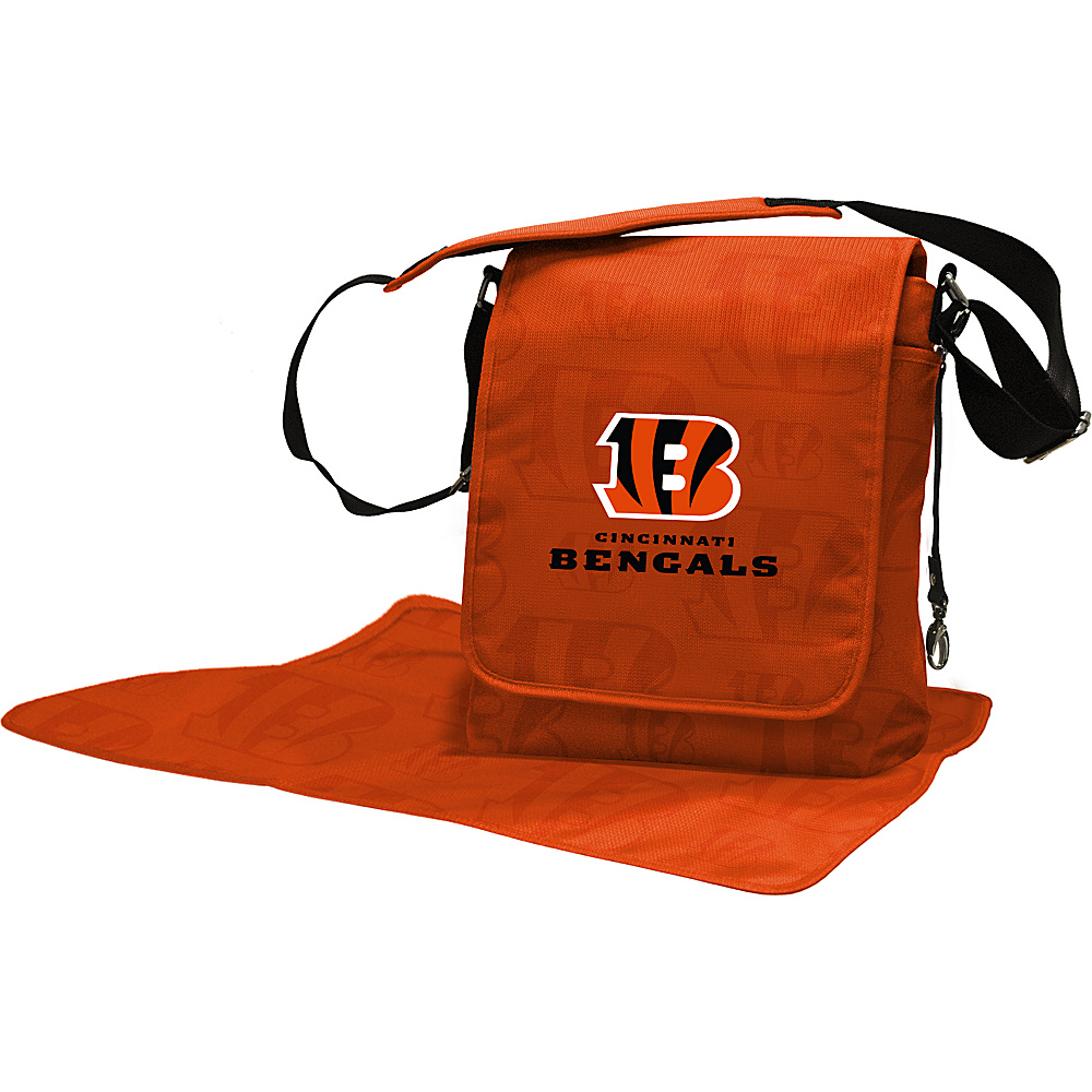 Lil Fan NFL Messenger Bag Cincinnati Bengals - Lil Fan Diaper Bags & Accessories