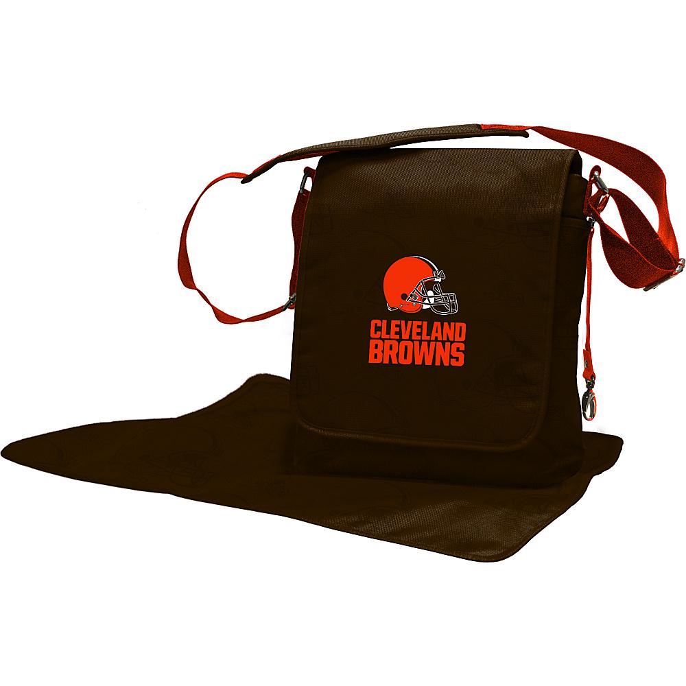 Lil Fan NFL Messenger Bag Cleveland Browns - Lil Fan Diaper Bags & Accessories