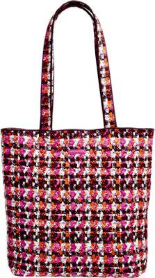 Vera Bradley Tote 2.0 Houndstooth Tweed - Vera Bradley Fabric Handbags