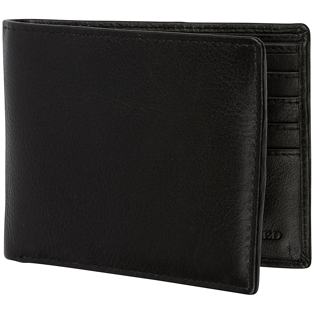 Access Denied Men s RFID Blocking Wallet with Removable ID Mini Wallet Genuine Leather Black Smooth Access Denied Men s Wallets