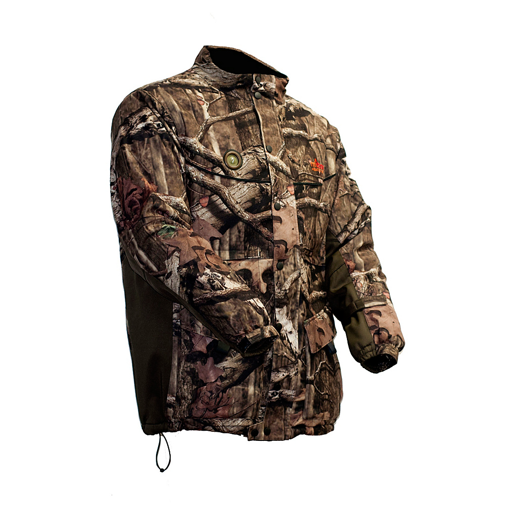 My Core Control Heated Hunting Jacket L Mossy Oak Infinity Break Up Camo My Core Control Men s Apparel