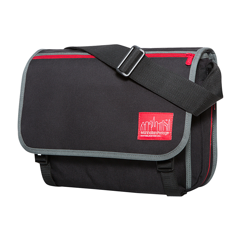 Manhattan Portage 80s Europa Messenger Black - Manhattan Portage Messenger Bags - Work Bags & Briefcases, Messenger Bags