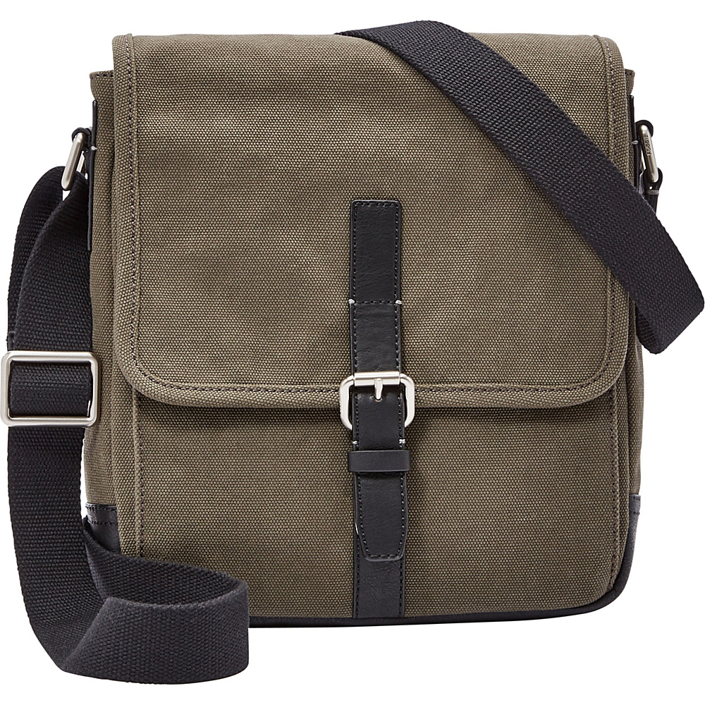 Fossil Davis NS City Olive - Fossil Messenger Bags - Work Bags & Briefcases, Messenger Bags