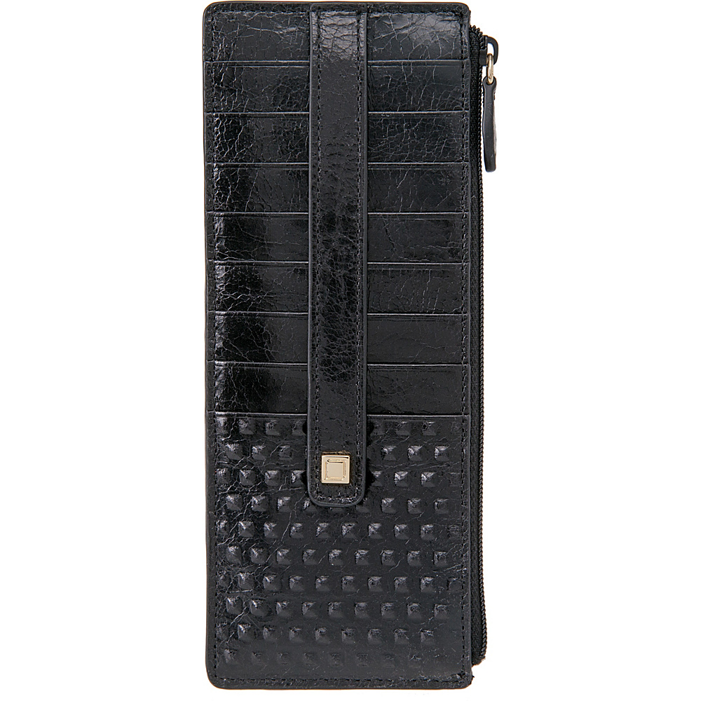 Lodis Cadiz Credit Card Case With Zipper Pocket Black - Lodis Womens Wallets - Women's SLG, Women's Wallets