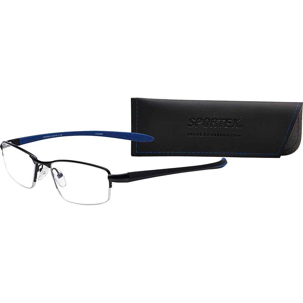 Select A Vision SportexAR Reading Glasses 1.25 Blue Select A Vision Sunglasses