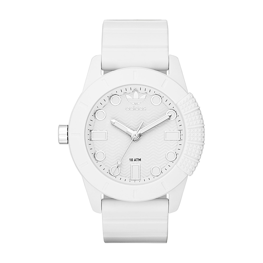 adidas watches ADH-1969 Three Hand Silicone Watch White - adidas watches Watches