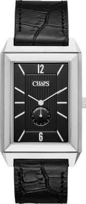 Chaps Affiliate Reversible Strap Two-Hand Watch Black - Chaps Watches