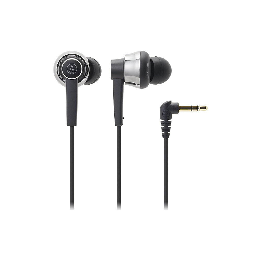 Audio Technica SonicPro In-Ear Headphones Black - Audio Technica Electronics