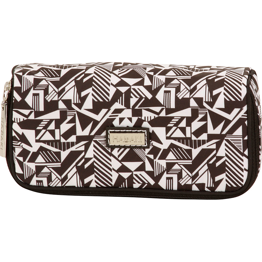 Hadaki Mirror Cosmetic Case Black & White - Hadaki Womens SLG Other - Women's SLG, Women's SLG Other