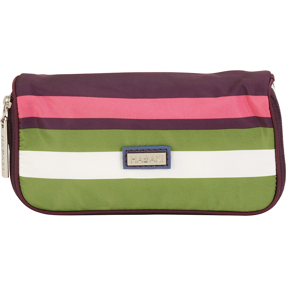 Hadaki Mirror Cosmetic Case Stripes - Hadaki Womens SLG Other - Women's SLG, Women's SLG Other
