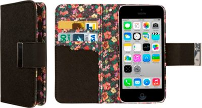 EMPIRE KLIX Klutch Designer Wallet Cases for Apple iPhone 5 / 5S Vintage Floral - EMPIRE Electronic Cases