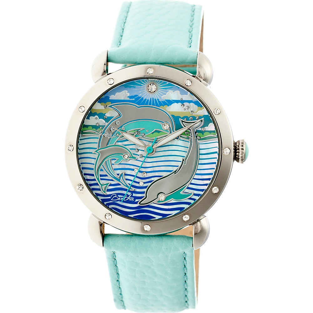 Bertha Watches Estella Ladies Watch Turquoise Bertha Watches Watches