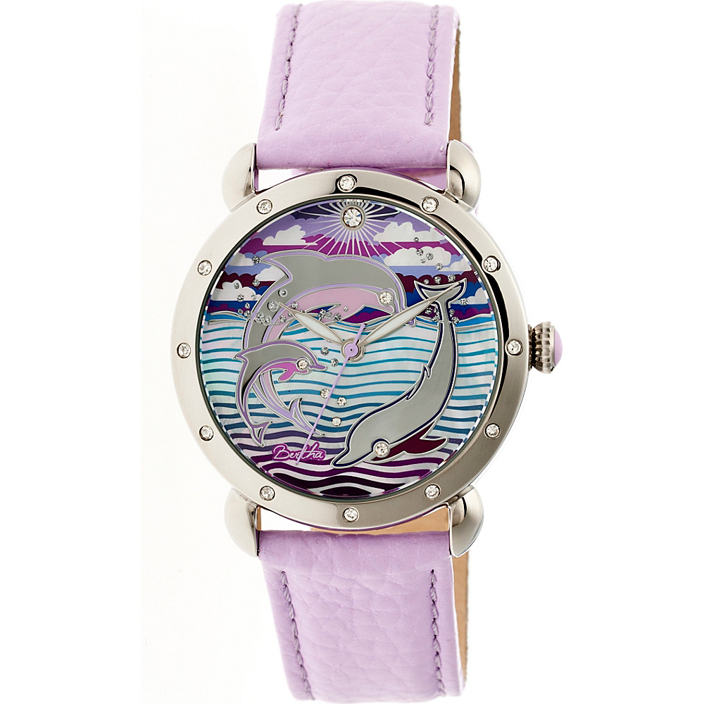 Bertha Watches Estella Ladies Watch Lavender Bertha Watches Watches