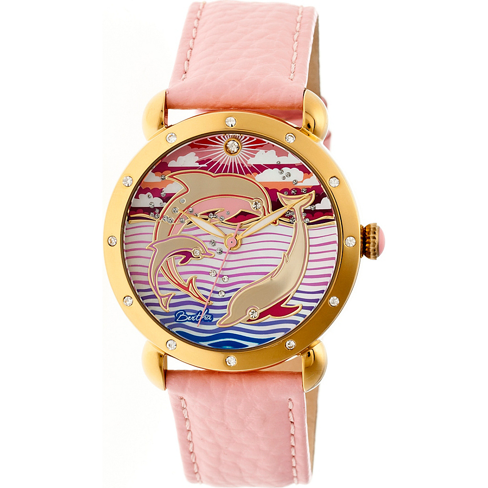 Bertha Watches Estella Ladies Watch Pink Bertha Watches Watches