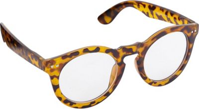 POP Fashionwear Classic Retro Round Fashion Clear Sunglasses Tortoise/Clear Lens - POP Fashionwear Sunglasses