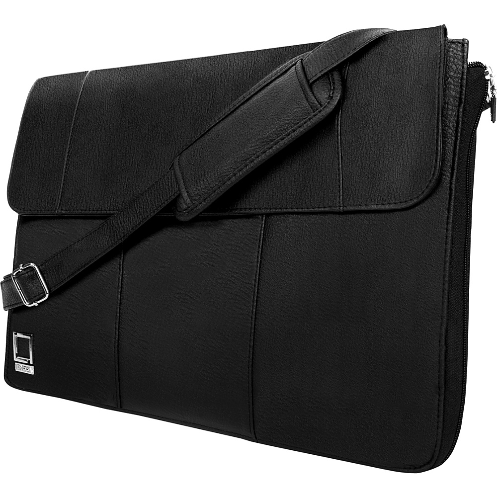 Lencca Axis Convertible Messenger Bag Sleeve for 13 Devices Black Lencca Messenger Bags