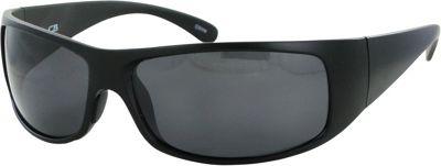 CB Sport Plastic Wrap Sunglasses Matte Black with Smoke Lenses - CB Sport Sunglasses