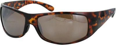 CB Sport Plastic Wrap Sunglasses Tortoise with Brown Lenses - CB Sport Sunglasses