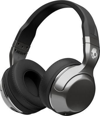 Skullcandy Ingram Hesh 2 Wireless Bluetooth Headphone Silver/Chrome - Skullcandy Ingram Headphones & Speakers