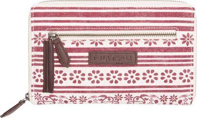 Bella Taylor Signature Zip Wallet Kayla White - Bella Taylor Women's Wallets