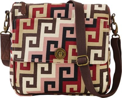 Image of Bella Taylor Ambrose Journey Crossbody Pink - Bella Taylor Fabric Handbags