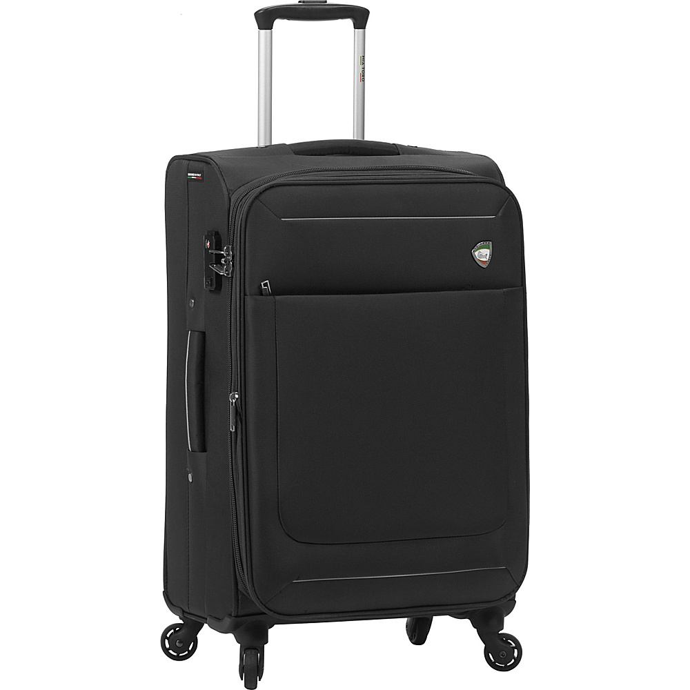 Mia Toro ITALY Corvara 24 Luggage Black Mia Toro ITALY Softside Checked