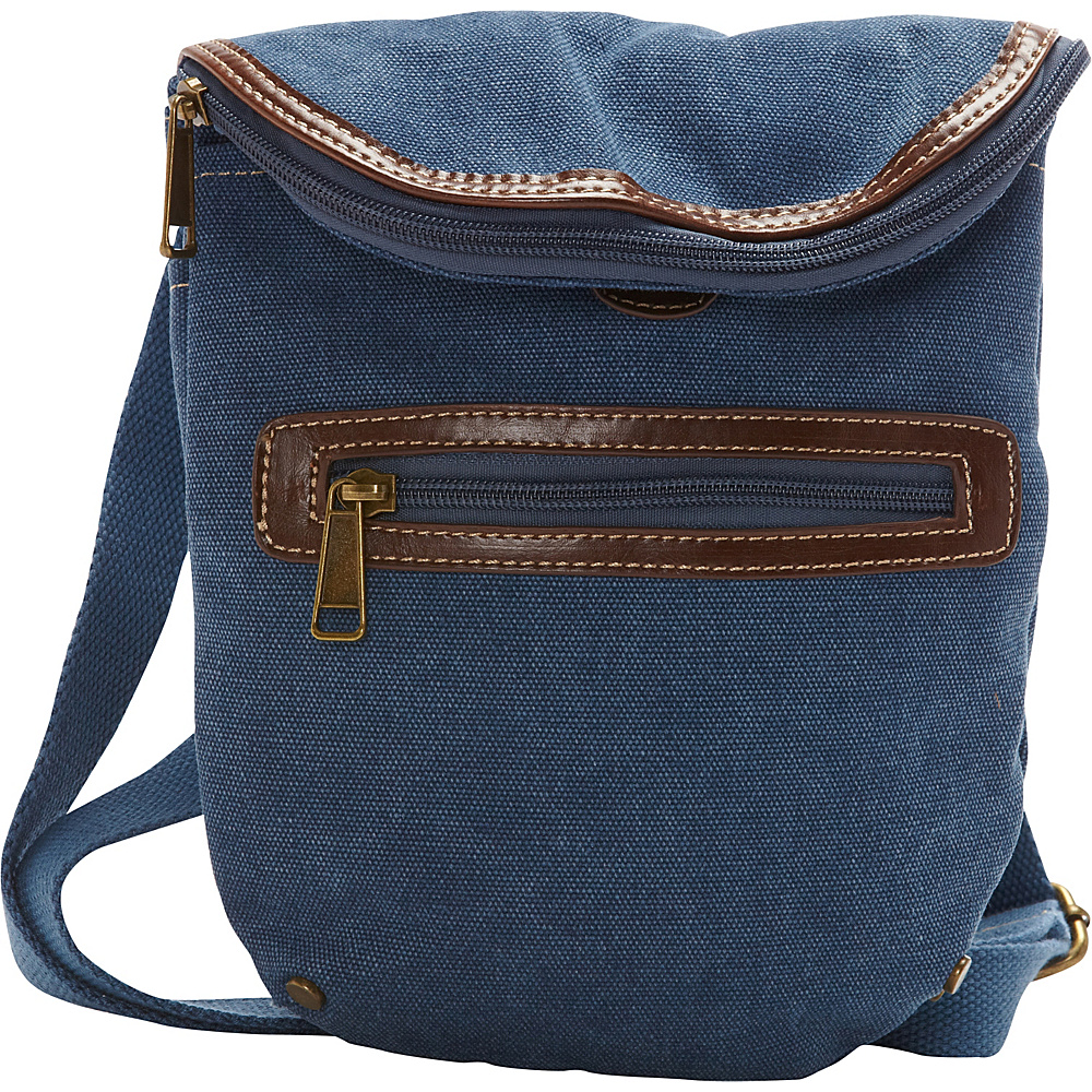 Sun N Sand Derby Crossbody Bag Denim - Sun N Sand Fabric Handbags - Handbags, Fabric Handbags