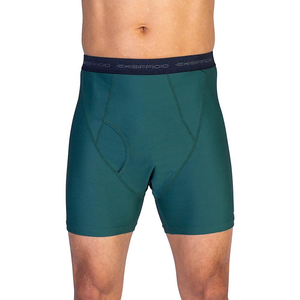 ExOfficio Give-N-Go Boxer Brief S - Hemlock - ExOfficio Mens Apparel - Apparel & Footwear, Men's Apparel