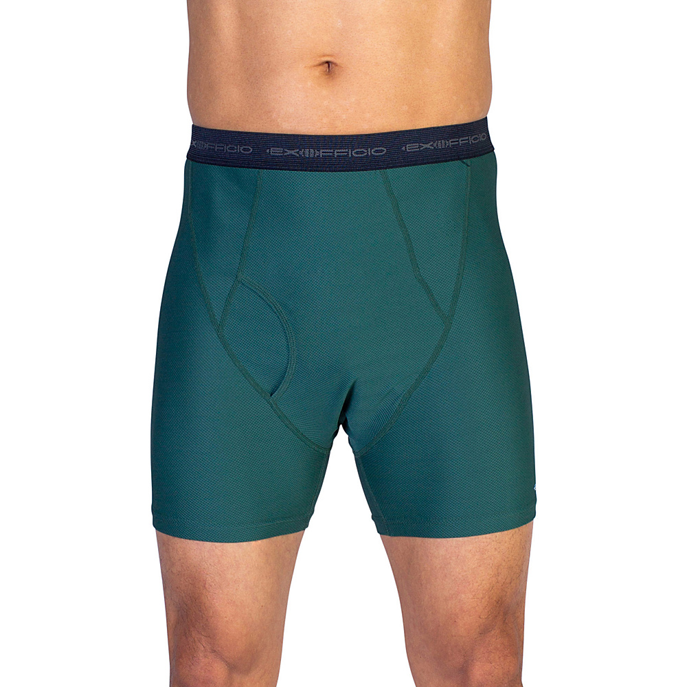 ExOfficio Give-N-Go Boxer Brief XL - Hemlock - ExOfficio Mens Apparel - Apparel & Footwear, Men's Apparel