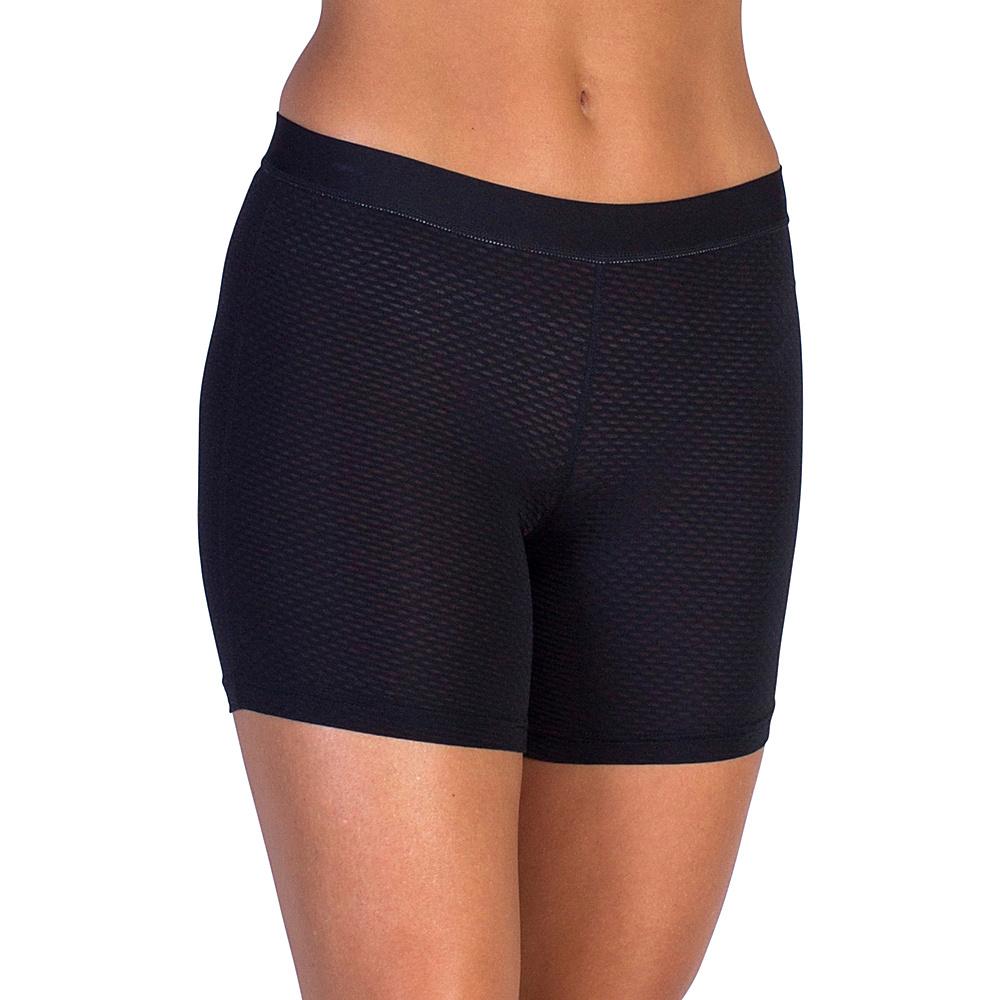 ExOfficio Give-N-Go Sport Mesh 4 Boy Short S - Black - ExOfficio Womens Apparel - Apparel & Footwear, Women's Apparel