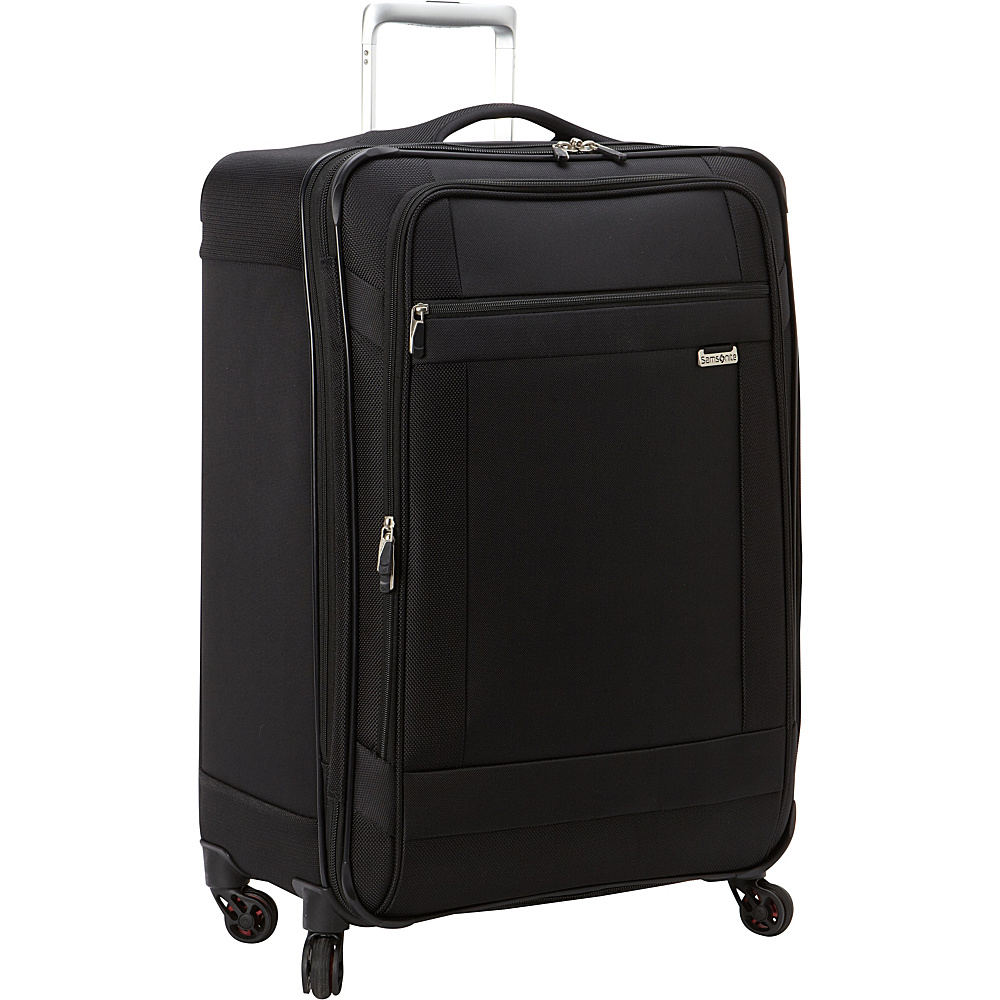 Samsonite SoLyte Spinner 25 Black Samsonite Softside Checked