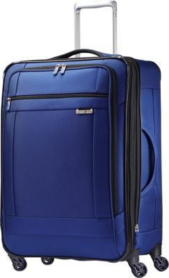 Samsonite SoLyte Spinner 25 True Blue - Samsonite Softside Checked