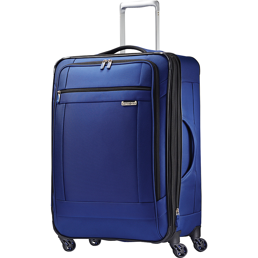 Samsonite SoLyte Spinner 25 True Blue Samsonite Softside Checked