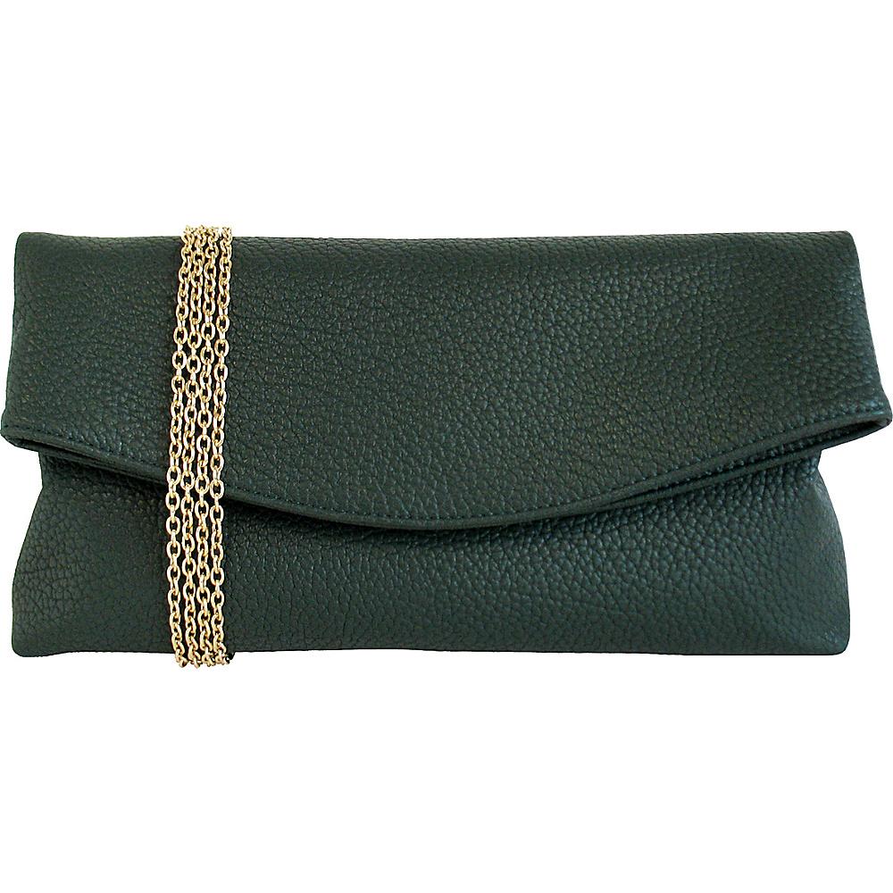 JNB Foldover Clutch Cypress JNB Manmade Handbags
