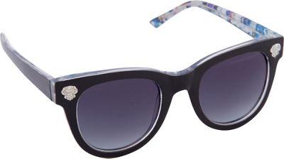 Vince Camuto Eyewear VC670 Sunglasses Black / Floral - Vince Camuto Eyewear Sunglasses