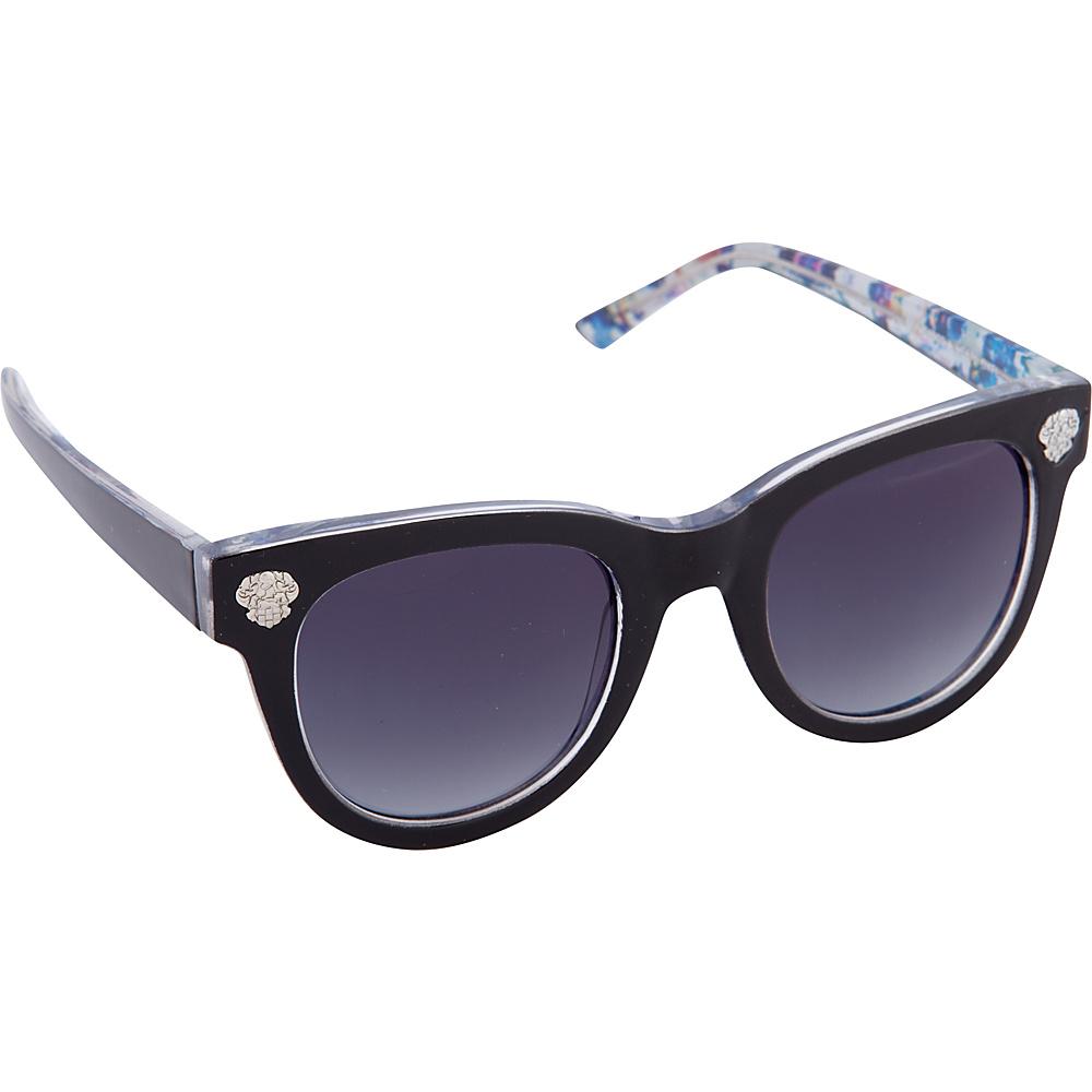 Vince Camuto Eyewear VC670 Sunglasses Black Floral Vince Camuto Eyewear Sunglasses